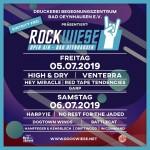 Plakat Rockwiese 2019
